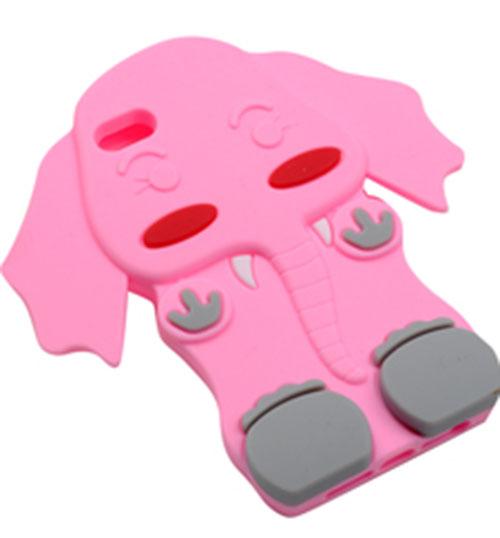 【景运通】大象图案硅胶手机套
