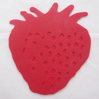 草莓型硅胶隔热垫