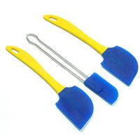 硅胶餐具|蓝色硅胶刀头