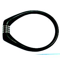 新款硅胶密码锁|硅胶自行车锁|硅胶制品